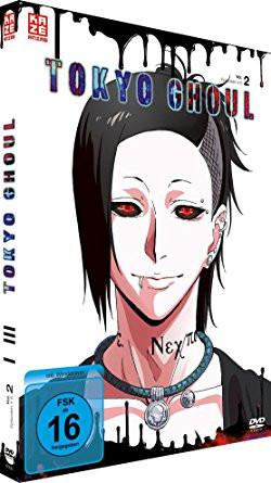 DVD Tokyo Ghoul 01 Vol. 02
