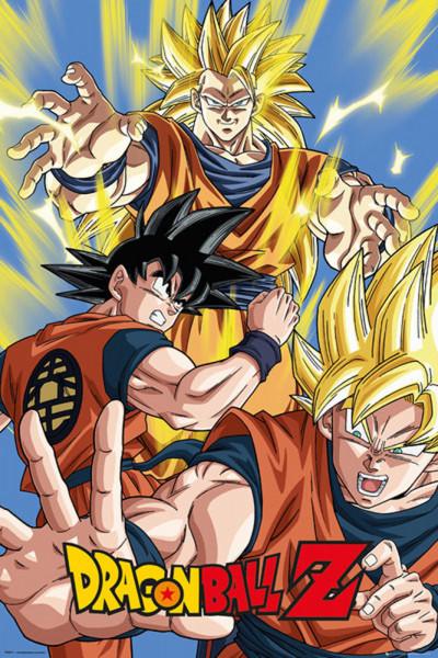 Poster: C15 Dragon Ball Z Goku