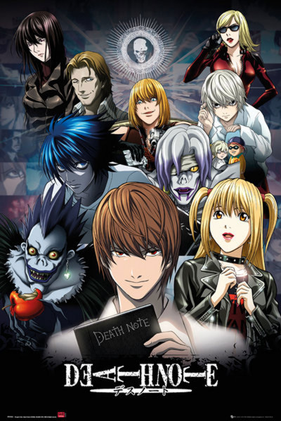 Poster: C16 Deathnote Collage
