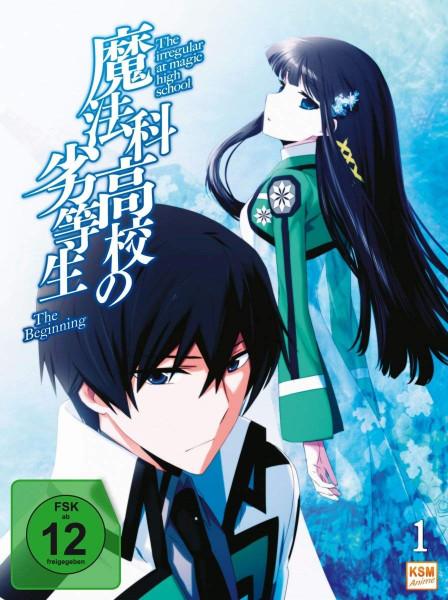 DVD The irregular at magic high school Vol. 01 - The beginning