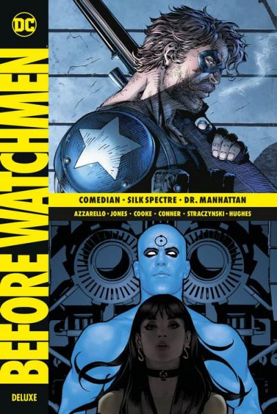 Before Watchmen Deluxe HC 02 - Comedian - Silk Spectre - Dr. Manhattan
