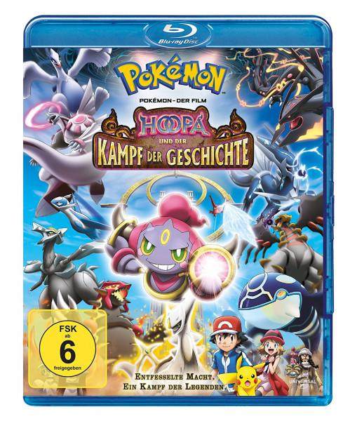 BD Pokemon Film 18: Hoopa und der Kampf der Geschichte