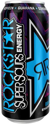 Rockstar Energy: Blue Raspberry