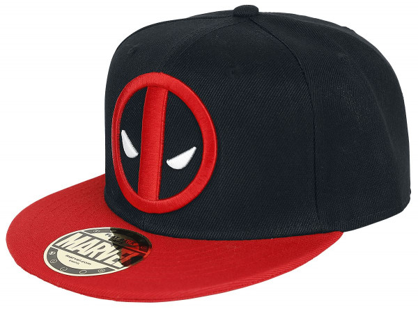 Marvel Snap-back Basecap - Deadpool Logo