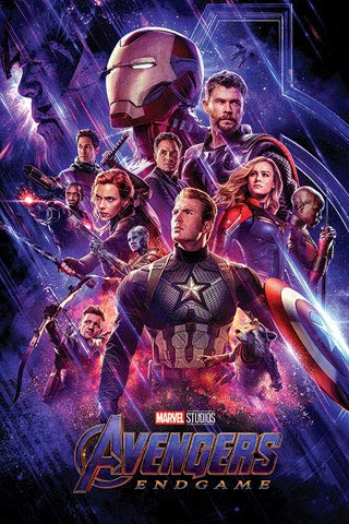 Poster: AE3 Avengers Endgame Journey
