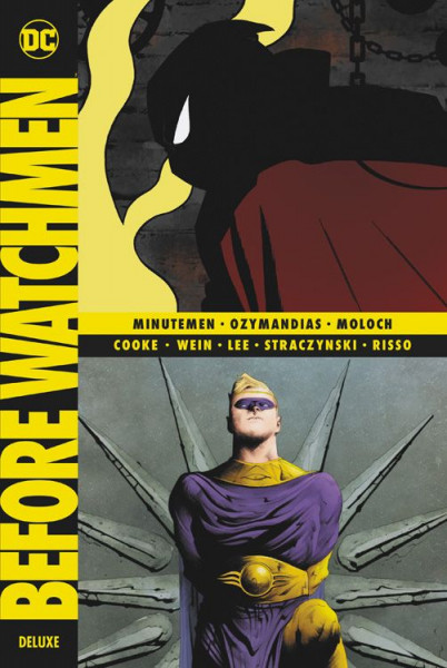 Before Watchmen Deluxe HC 01 - Minutemen - Ozymandias - Moloch