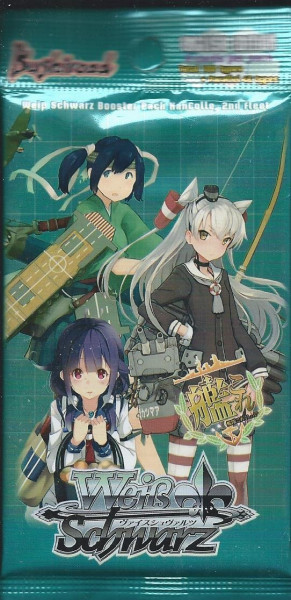 Weiß Schwarz: Booster Pack KanColle, 2nd Fleet