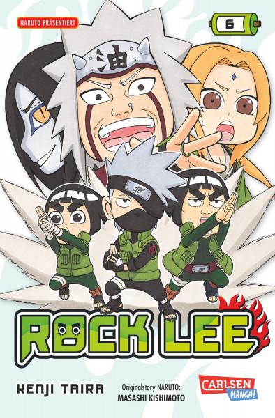 Rock Lee, Band 6