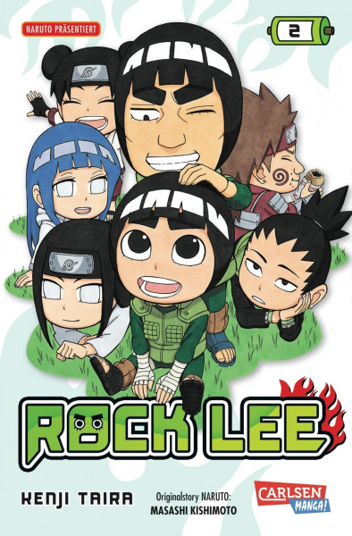 Rock Lee, Band 2
