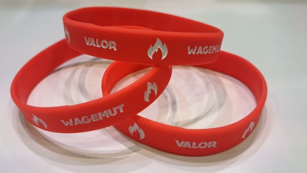 Pokemon Go Armband Team Rot/Valor/Wagemut