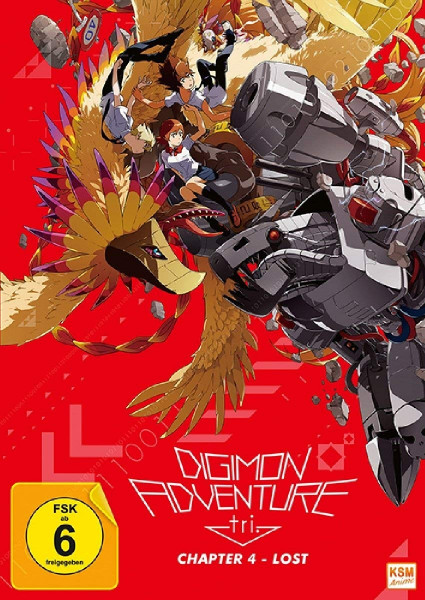 DVD Digimon Adventure tri Chapter 04 - Lost