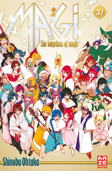 Magi - The Labyrinth of Magic 37