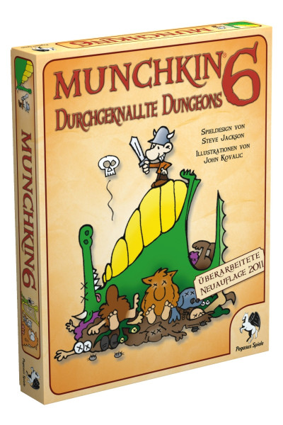 Munchkin 6: Durchgeknallte Dungeons