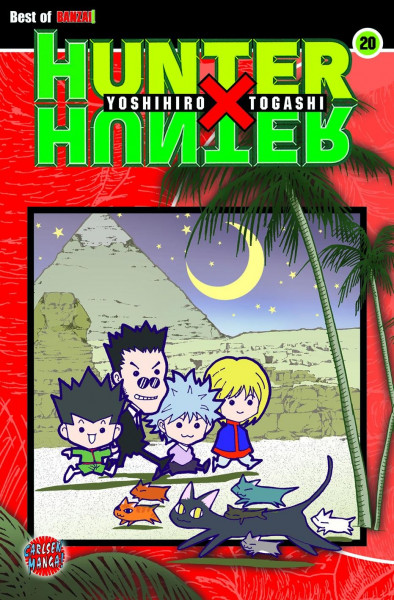 Hunter X Hunter, Band 20