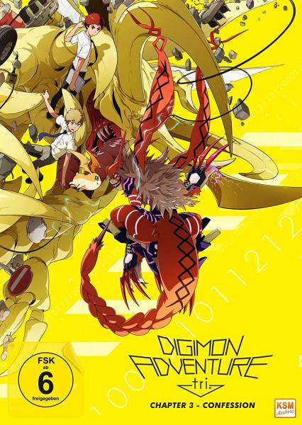 DVD Digimon Adventure tri Chapter 03 - Confession