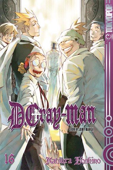 D. Gray-Man 16