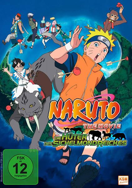 DVD Naruto the Movie 03: Die Hüter des Sichelmondreiches