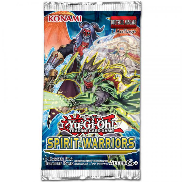 YGO: Spirit Warriors Booster DE