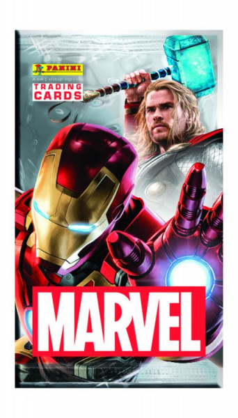 Marvel Heroes Trading Cards - 1 Booster (6 Karten)
