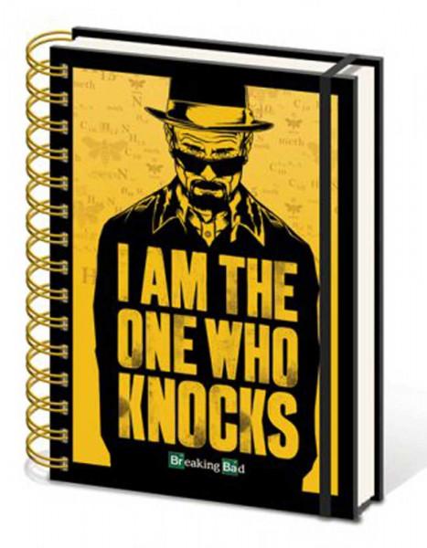 Notizbuch: Breaking Bad - I am the one who knocks