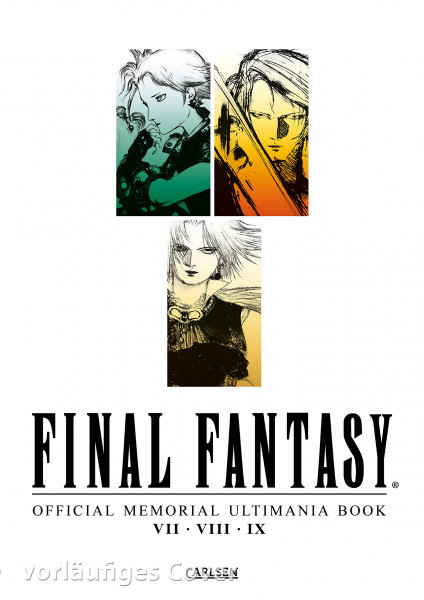 Final Fantasy Official Memorial Ultimania Book - VII - VIII - IX