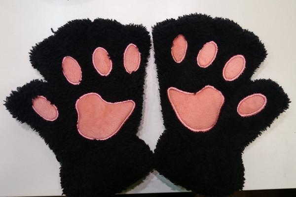 Katzenpfoten Schwarz