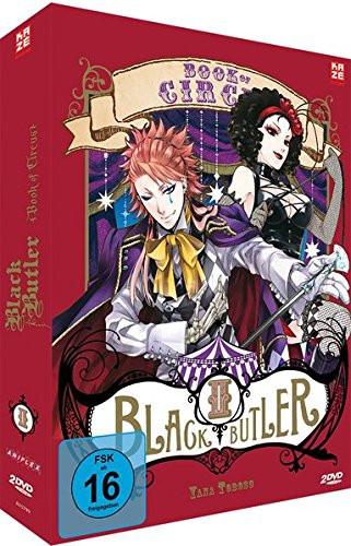 DVD Black Butler: Book of Circus Vol. 02