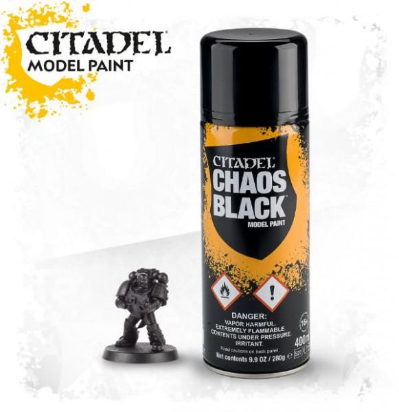 Citadel 62-02 Spray Chaos Black