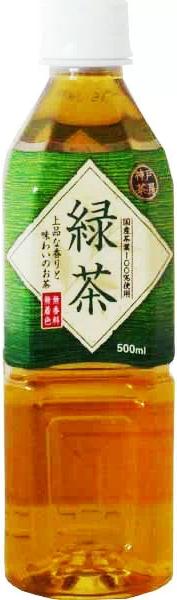 Drink: Japanischer Grüntee: Ryoku-Cha 500 ml