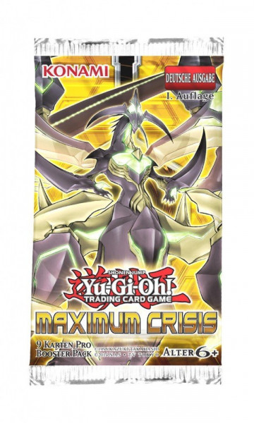 YGO: Maximum Crisis Booster DE