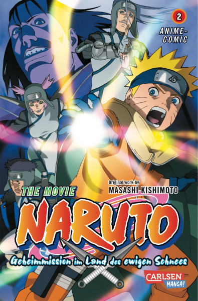 Naruto the Movie: Geheimmission im Land des ewigen Schnees, Band 2