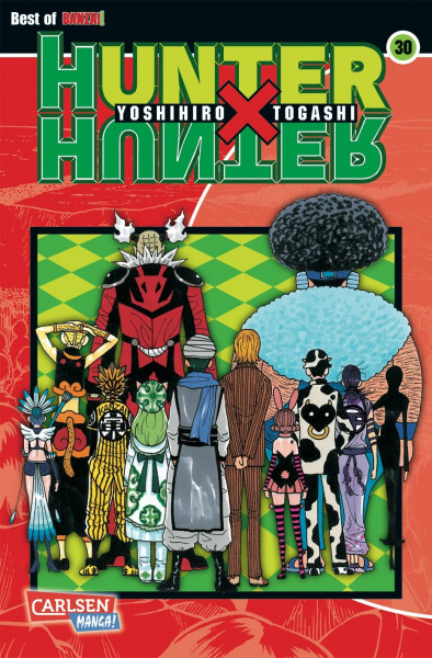 Hunter X Hunter, Band 30