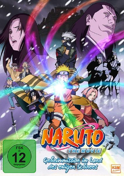 DVD Naruto the Movie 01: Geheimmission im Land des ewigen Schnees