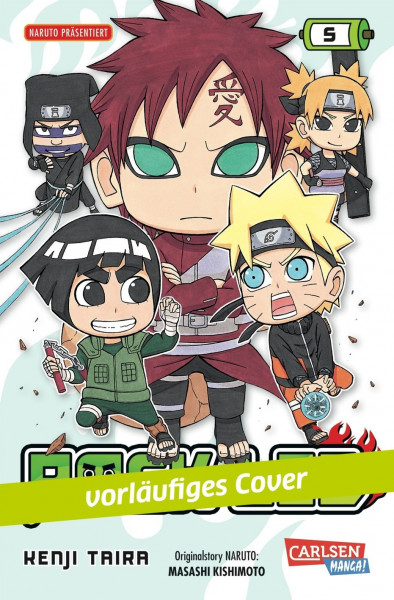 Rock Lee, Band 5