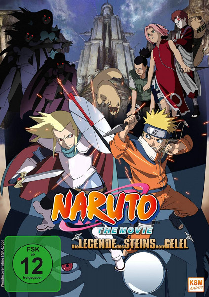 DVD Naruto the Movie 02: Die Legende des Steins von Gelel