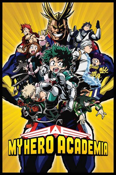 Poster: C17 My Hero Academia Season 1