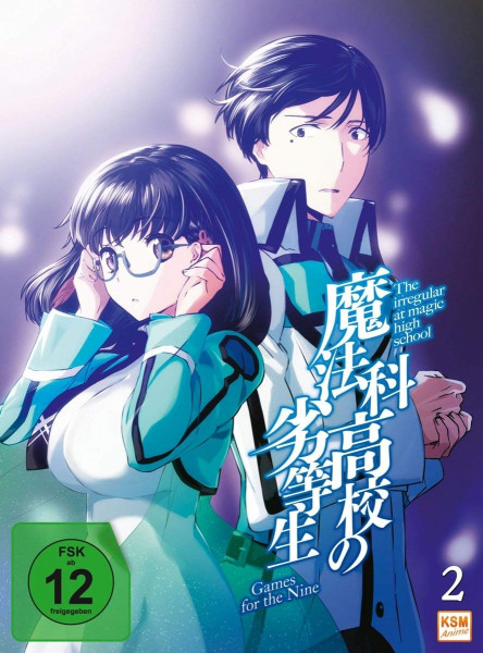 DVD The irregular at magic high school Vol. 02 - Games for the nine 1
