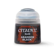 Citadel 21-25 Base Abaddon Black