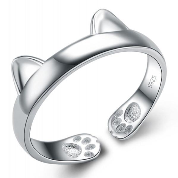 Katzen-Ohren-Ring Größenverstellbar