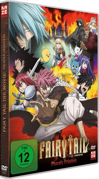 DVD Fairy Tail The Movie - Phoenix Priestess