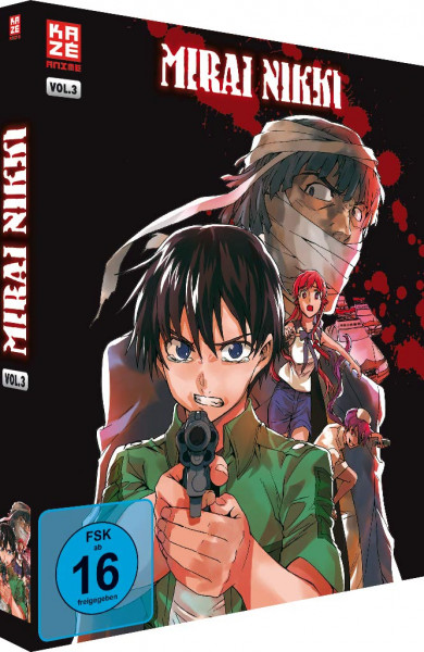 DVD Mirai Nikki Vol. 3